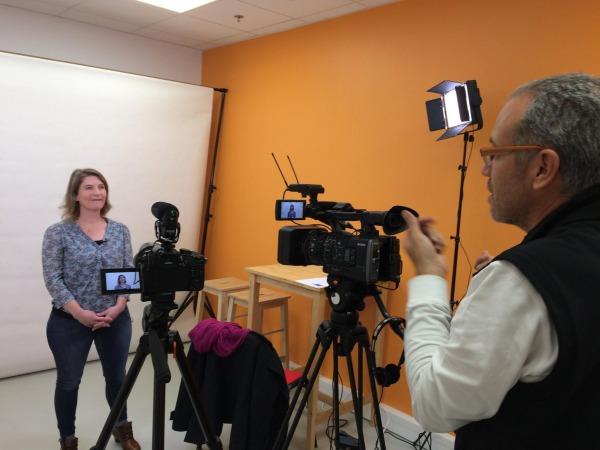 Tournage de plusieurs CV vidéo pour des personnes en recherche d'emploi