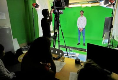 Réalisation de CV vidéo pour des étudiants