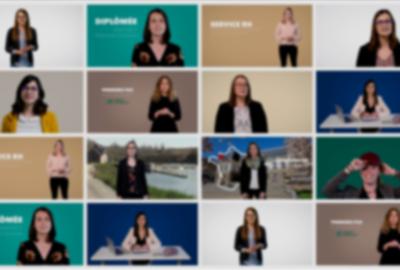 Tournage CV vidéo étudiants Master RH UBS Vannes