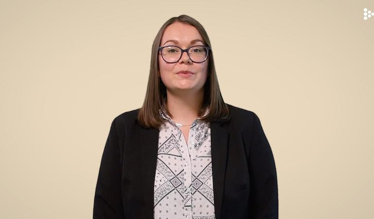 CV vidéo Rivalin Charlene - Ressources Humaines