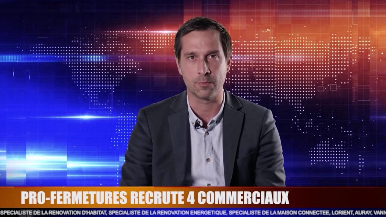 Offre d'emploi commercial Menuiserie au Morbihan
