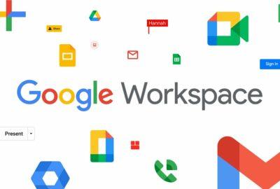 Application de Google Workspace